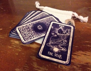 tarot deck star